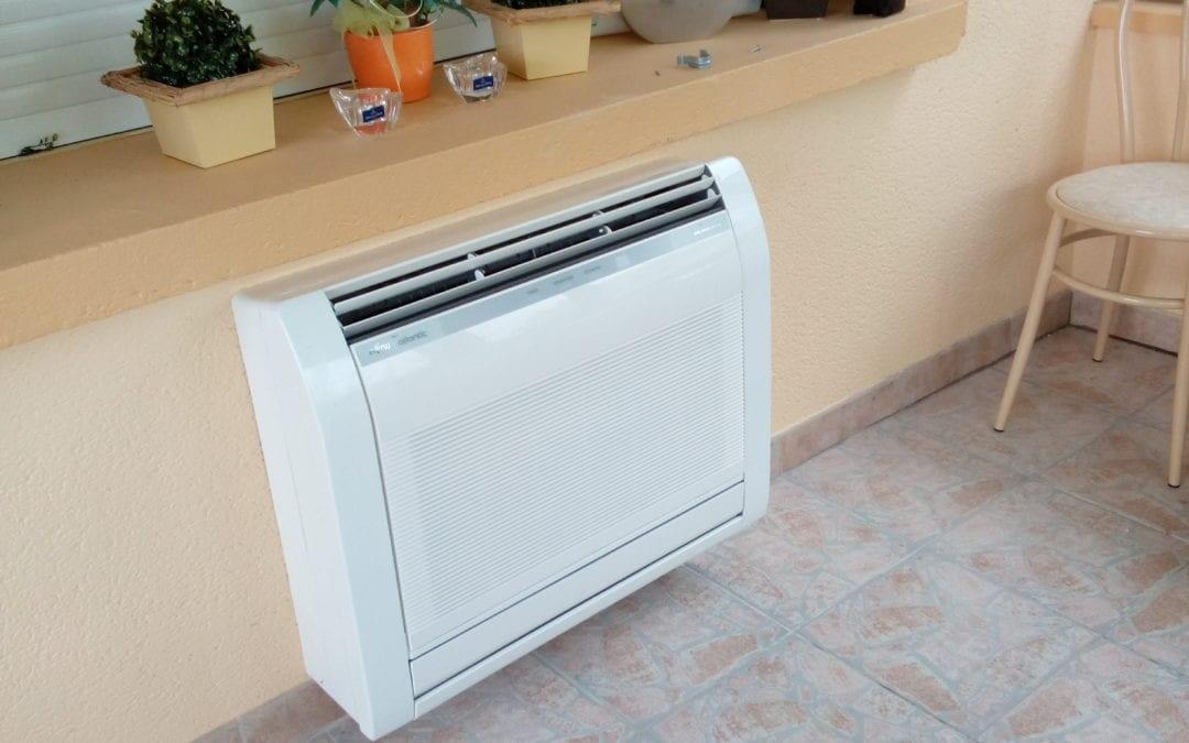 Différentes installation de système de climatisation