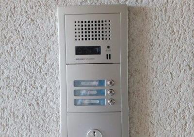 Installation d'un videophone dans une résidence