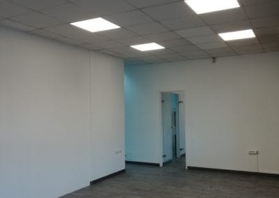 Optimisation d'un éclairage dans un bureau professionnel
